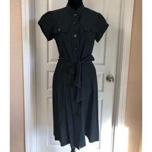 Halogen Button Up Shirt Dress